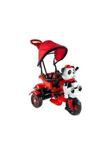 BabyHope 127 Little Panda 3 Tekerlekli Itmeli Bisiklet Renkli
